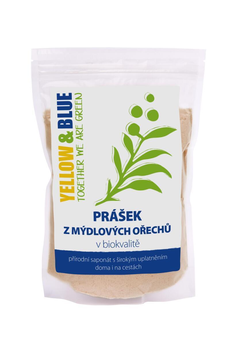 Použití produktu Prášek z mýdlových ořechů (sáček 100 g)