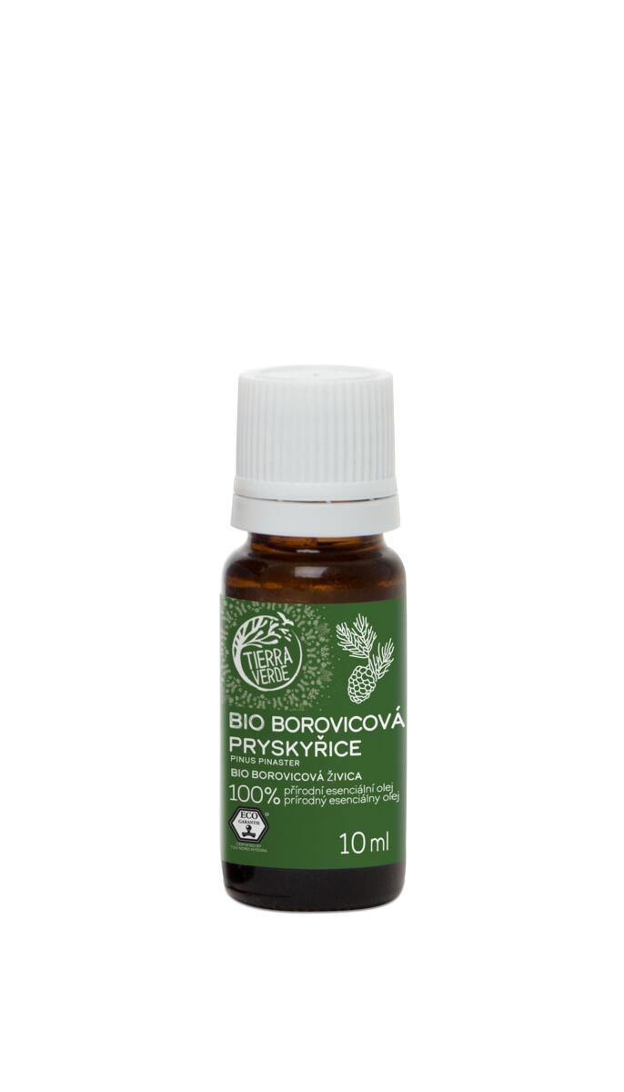 Použití produktu Esenciální olej BIO Borovicová pryskyřice (10 ml)