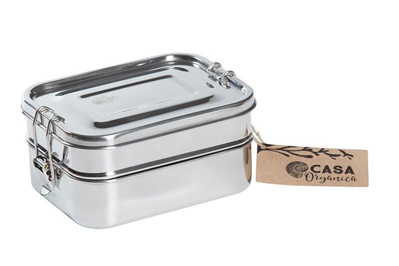 Použití produktu Set obědových dóz s těsněním – nerez (3 ks)