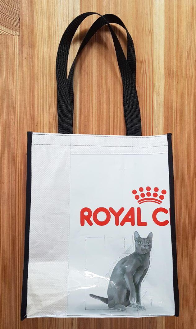 Recy taška mačkopes – veľká (40 × 50 × 10 cm)