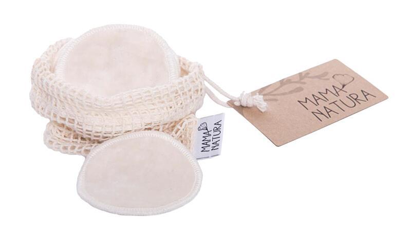 Použití produktu Tampón kozmetický zamat – malý (7 cm) 6 ks