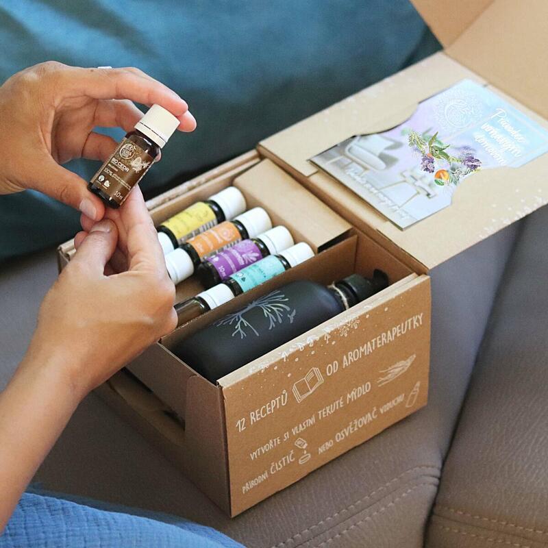 Použití produktu Voňavý domov (krabička)